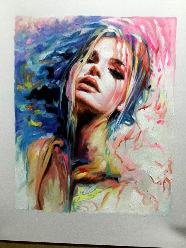 portrait-peinture-impressionniste-femme