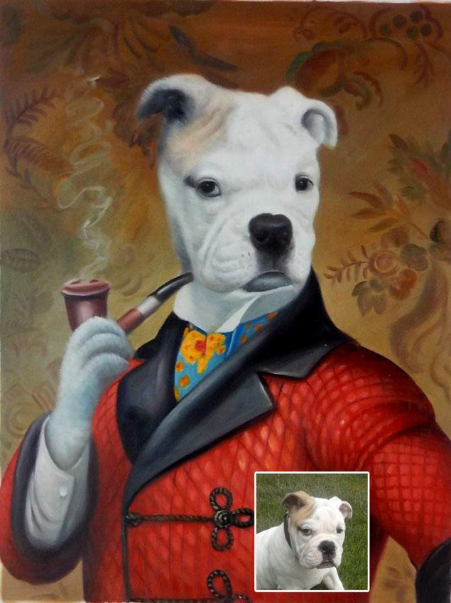 portrait-peinture-huile -poncelet
