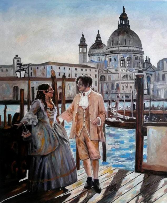 portrait-peinture-peintre-huile -impressionniste