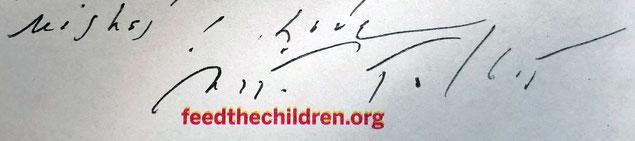 Autograph Nita Talbot Autogramm