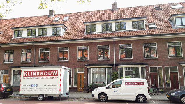 Schilderwerk, isolatieglas plaatsen en het vervangen van zinken dakgoten in Leiden