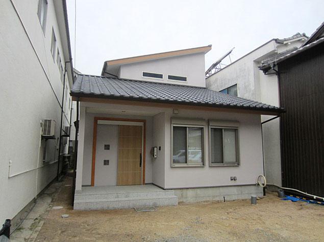 岡山|玉野 岡山の木を生かした モダン和風の住宅