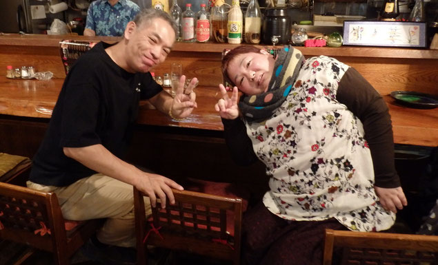 ウクレレ奏者の京極順一さんとシンガーの相田めぐみさん☆