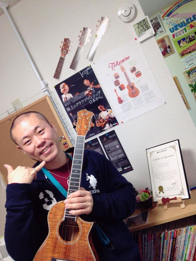 高田さんが撮ってくれました☆自分のスタジオで自分を撮ってもらう(笑)