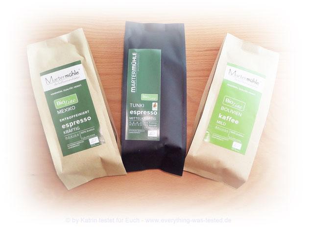 Martermühle BioLine Kaffee