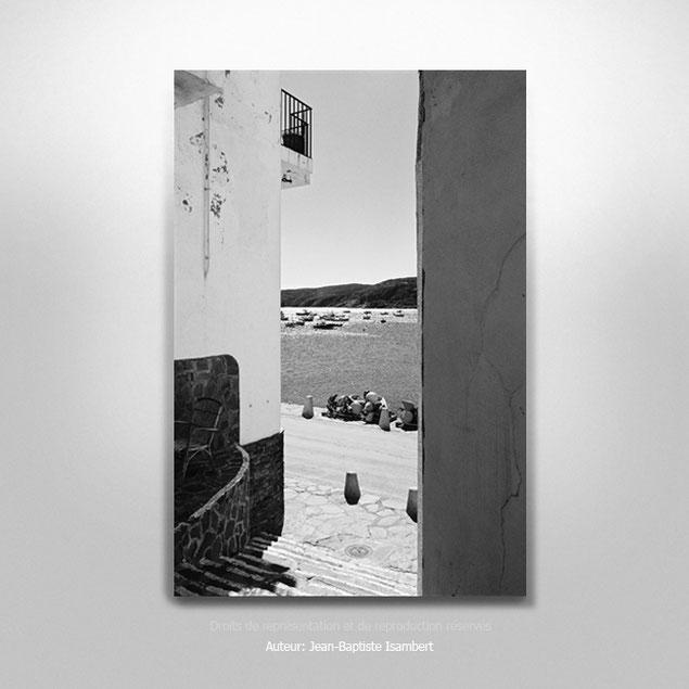 """""""Point de vue à Cadaqués"""", 7 exemplaires. Tirage seul 30x45 cm. 200€."""