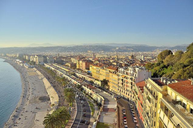 Vue panoramique de Nice (source: bogdan1971)
