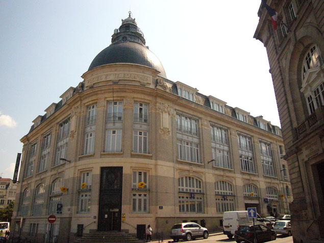 Hôtel des postes et télégraphes de Limoges (source: Babsy)