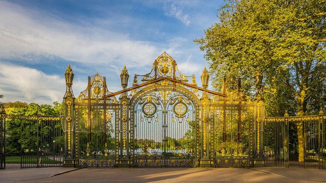 Porte d'entrée principale du Parc de la Tête d'Or, côté Rhône (source: ddzphoto)