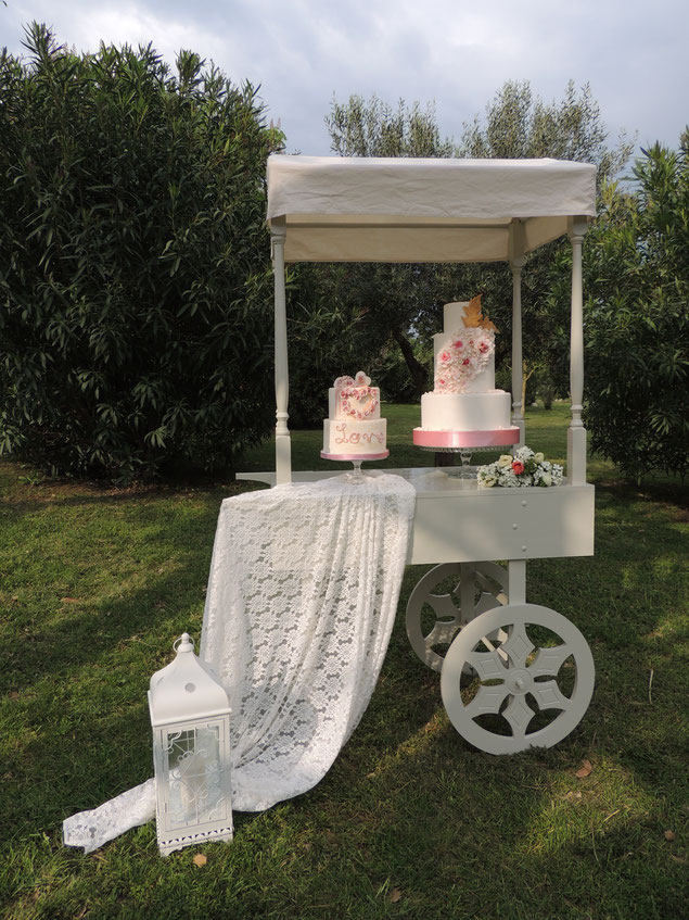 Carrettino Shabby
