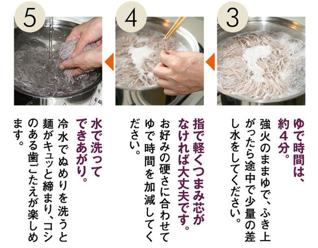 古代麺ゆで方
