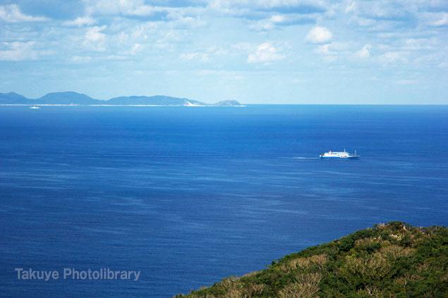 伊平屋島 沖縄の風景