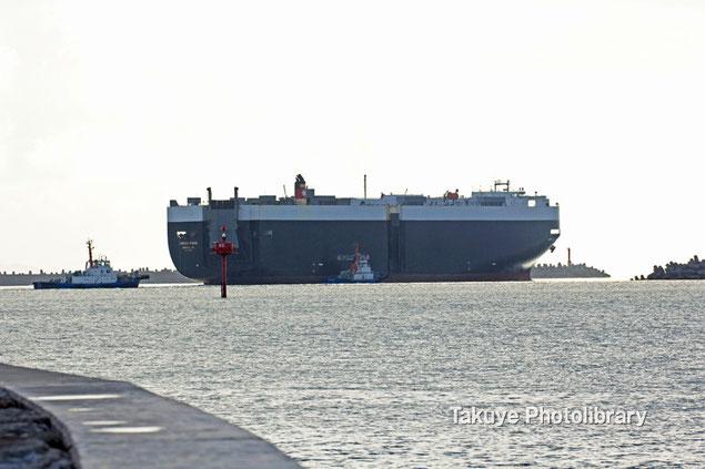 自動車運搬船 グリーンリッジ