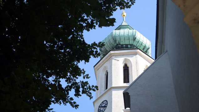 Turm der Pfarrkirche Grinzing