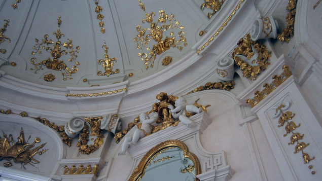 Decke des Oktogons (Oberes Belvedere)