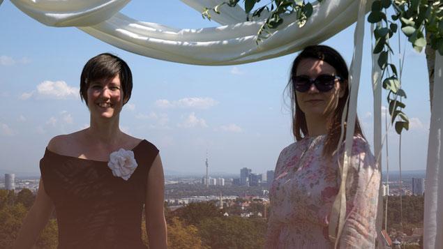 Katharina Litschauer und Lena Ruzicka, Hochzeits-Deko von Mademoiselle Fée