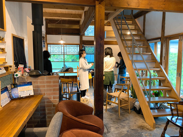 オシャレに改装された古民家で過ごす贅沢な時間