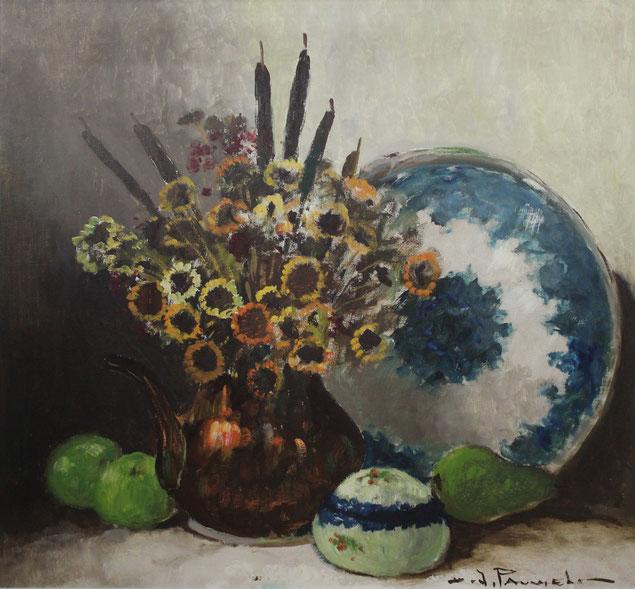 te_koop_aangeboden_een_bloemstilleven_van_de_belgische_kunstschilder_henri_jules_pauwels_1903-1983