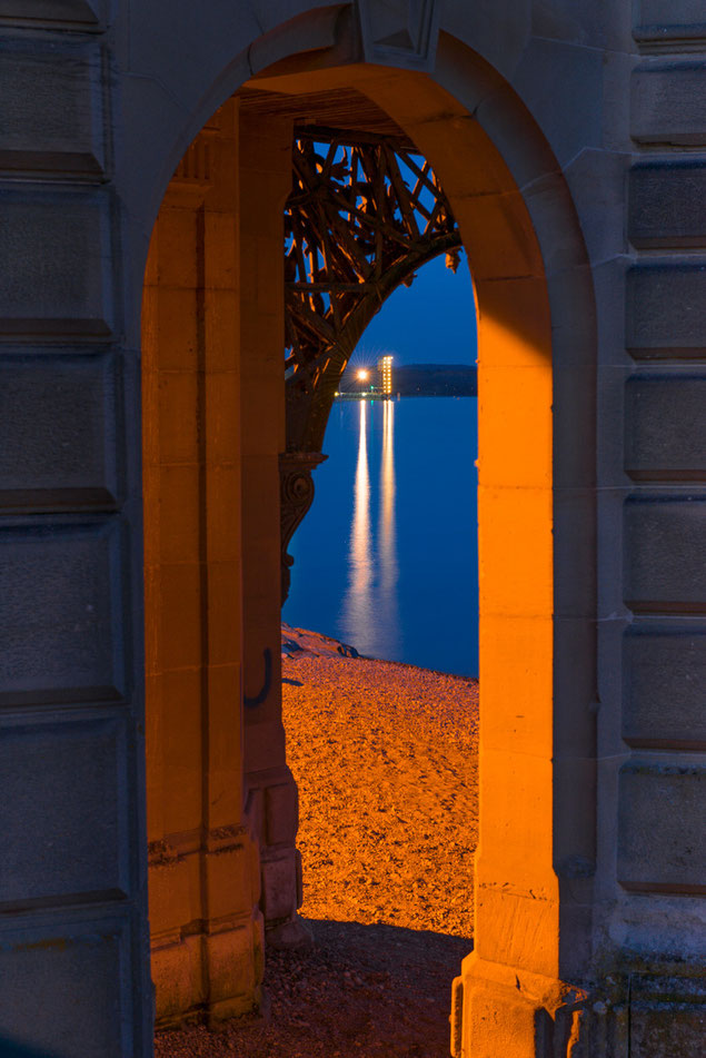 Foto Blaue Stunde Schlosskirche