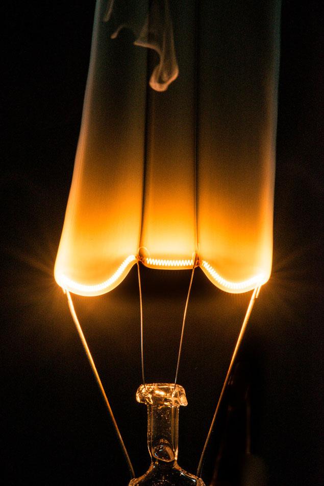 Foto Glühlampe