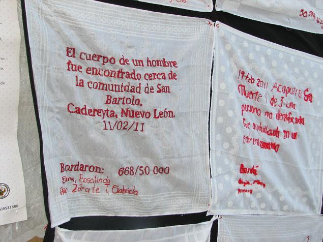 「2011年11月2日、ヌエボレオン州カデレイタで男性の死体が発見された」