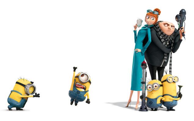 """""""Gru, mi villano favorito"""", una de las películas animadas más exitosas"""