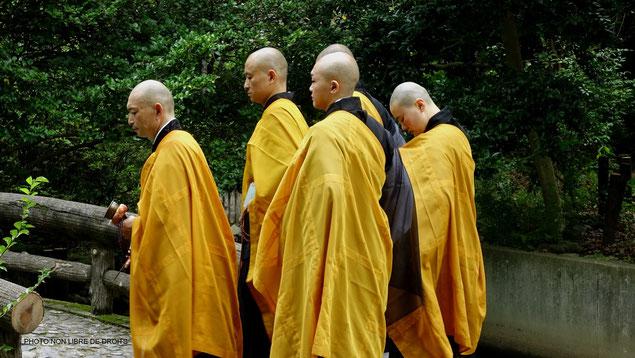 Moines bouddhistes, Japon