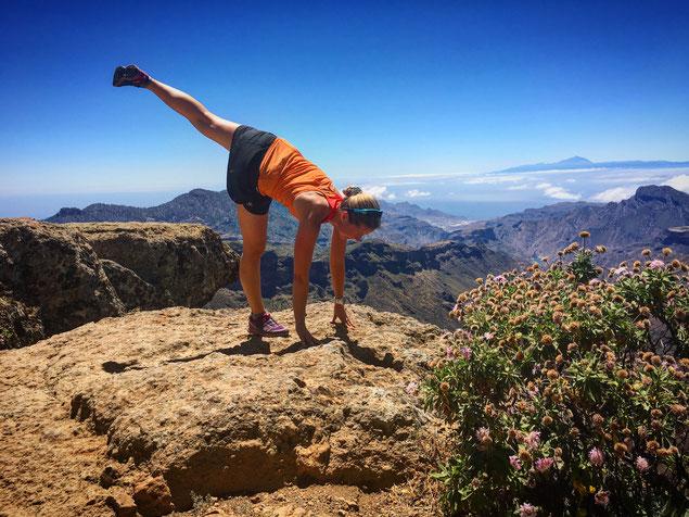 im Yoga gelingt das Abschalten durch eine Fokussierung auf unseren Atem
