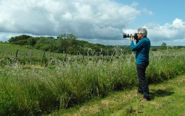 Christian Coulais, vidéo-photographe. Photographie Aude Boilley, Sud-Ouest.