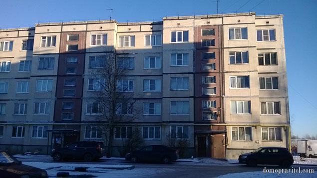 Дом 42 в поселке Торфяное Гатчинского района