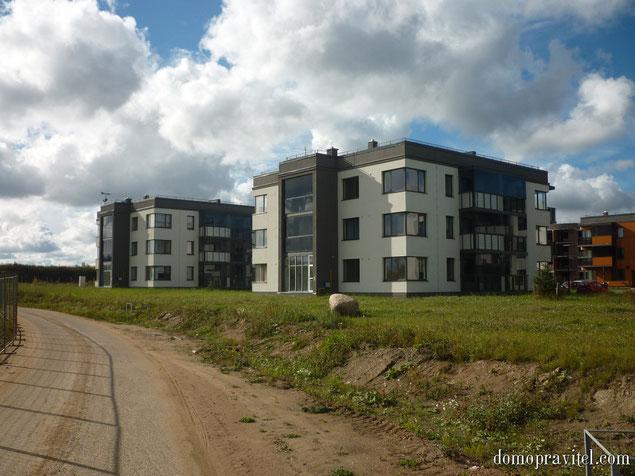 Жилой квартал Ванино (Узигонты), сентябрь 2015