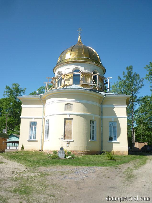 Спасо-Преображенский храм в селе Орлино