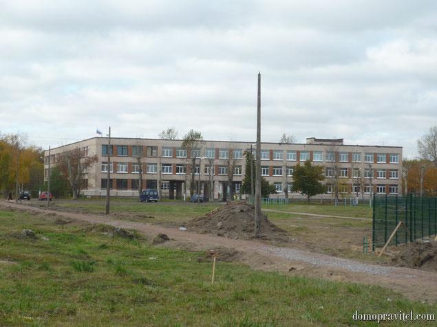 Школа в деревне Горбунки