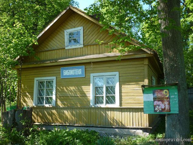 Сельская библиотека в селе Орлино
