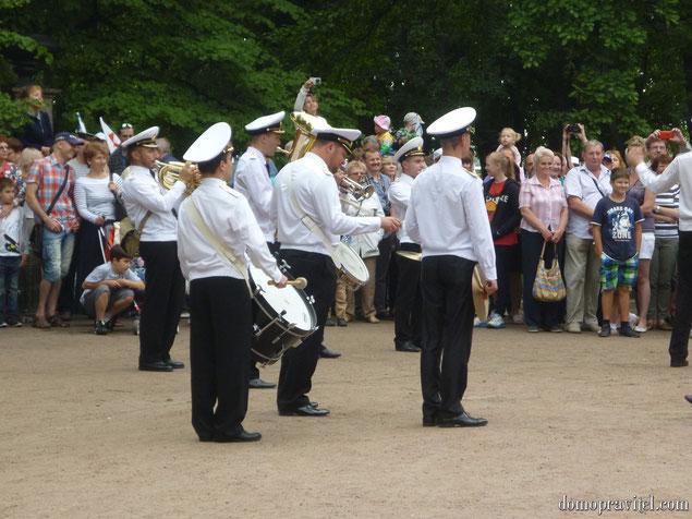 День ВМФ в Кронштадте, август 2015.