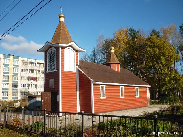 Церковь Преображения Господня в Горбунках