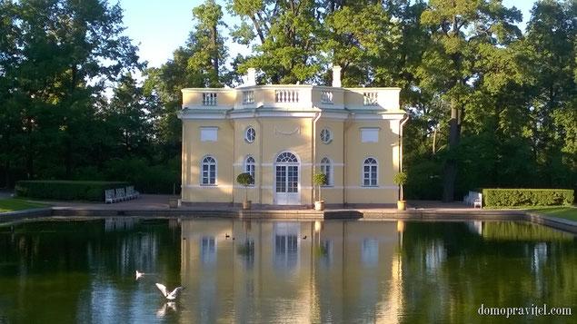 г. Пушкин. Екатерининский парк. Нижняя ванна. Фото - август 2015.
