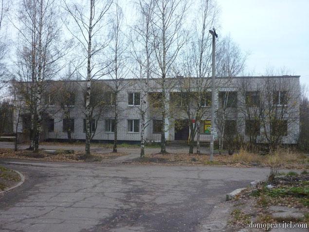Амбулатория в поселке Новый Свет Гатчинского района
