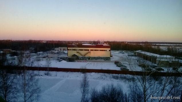 Вид из окна с пятого этажа