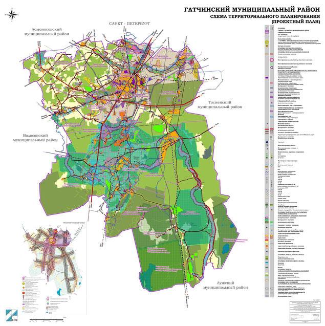 Проектный план Гатчинского района