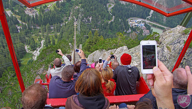 Gelmerbahn steilste Standseilbahn