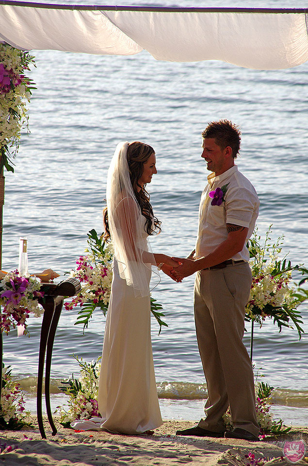 Heiraten unter Palmen Wedding on the Beach