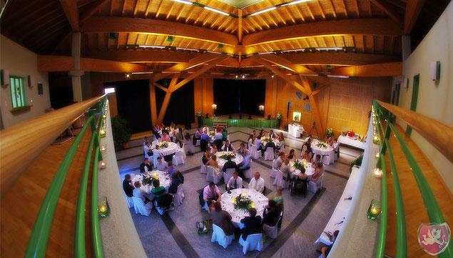 Mehrzweckhalle Reckingen-Gluringen Hochzeit DJ Benz