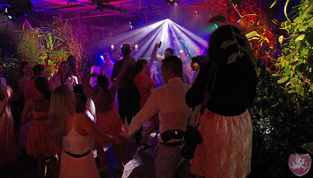 Giardino Verde Party Hochzeit Heiraten Weddind DJ Benz