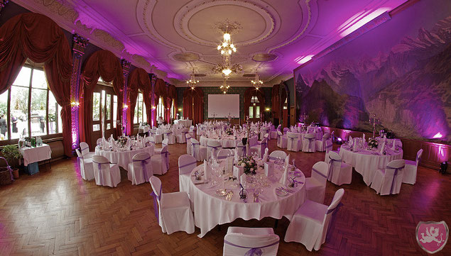 Hotel Seeburg Luzern Panoramasaal Hochzeit Heiraten Wedding DJ Benz