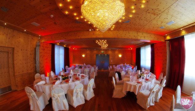 Restaurant Wellnesshotel Sonnental Dübendorf Arvensaal Hochzeit Heiraten Wedding DJ Benz