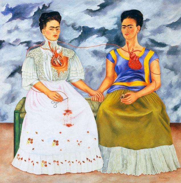 "Frida Kahlo, ""Le due Frida"""