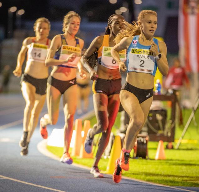 Julia Mayer wien Dsg Österreich Austrian Athletics Staatsmeisterin 10.000 meter bahn Eisenstadt Nicole Egger Schweiz Sandrina Illes Gitonga Purity