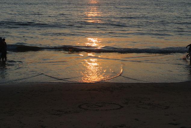 日が落ちると、心も身体もどっしり安定してきます。