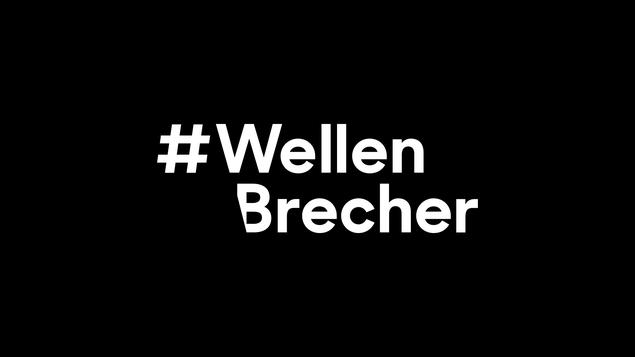 Visual Identity zur Kampagne #Wellenbrecher